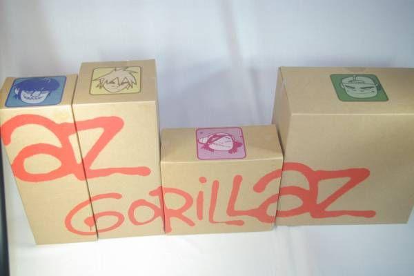 ゴリラズ フィギュア GORILLAZ Kid Robot_画像1