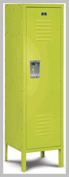 Kids Size Locker. Kids' Storage Solutions We Love at Design Connection, Inc. | Kansas City Interior Design http://designconnectioninc.com/blog/ #StorageSolutions #Organization #ToyStorage