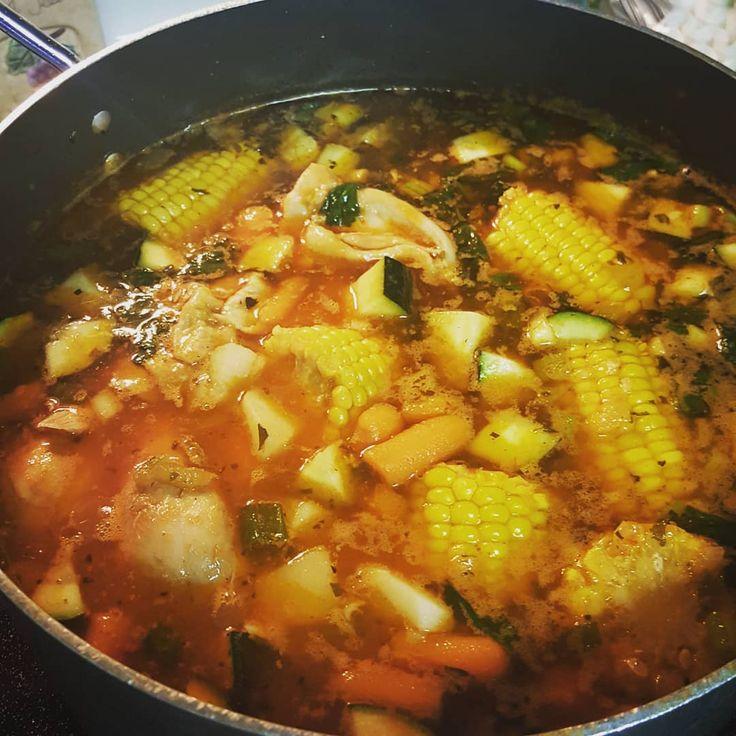 Caldo de pollomexican chicken stewsoup recipe in 2020