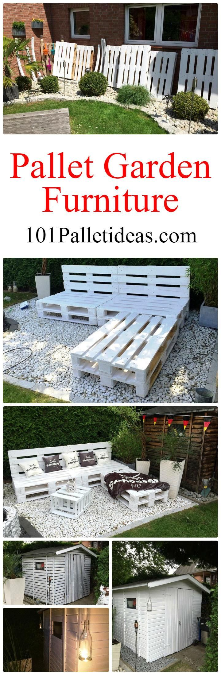 Diy comfortable pallet adirondack chair 101 pallets - Pallet Garden Furniture Diy 101 Pallet Ideas