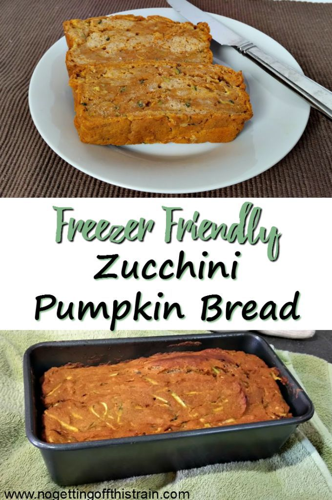 This Pumpkin Zucchini Bread is freezer-friendly, easy to make, and absolutely delicious! It's like having dessert for breakfast!