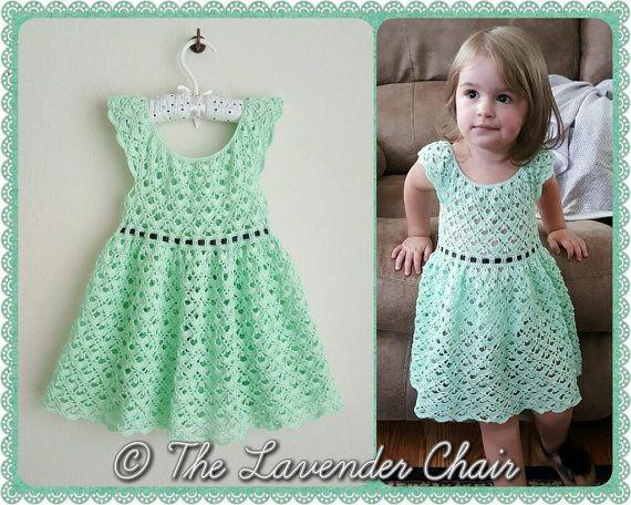 Gemstone Lace Dress Crochet Pattern *PDF DOWNLOAD ONLY* Instant Download