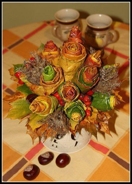podzimni dekorace na stul - Hledat Googlem