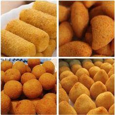 Com a Massa Econômica para Salgados Fritos você pode fazer coxinhas, rissoles, bolinhas de queijo e bolinhos de carne com muito sabor, praticidade e econom