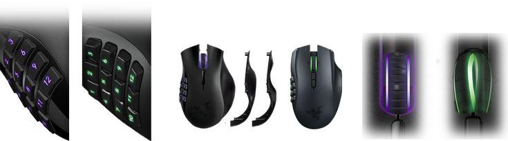 Razer Naga Epic Chroma MMO Gaming Mouse Review 2015