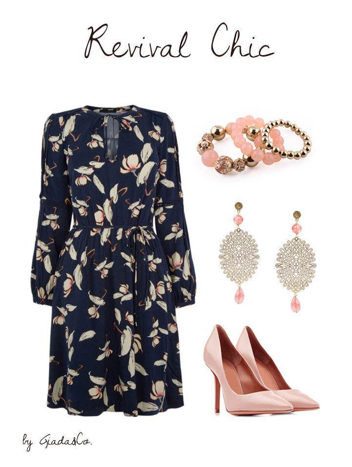 Revival Chic!!! #bracelet #earrings #Lampony' http://www.giadaandco.com/designer-collection/lampony/orecchino-pizzo-dorato-pietre-dure-salmone http://www.giadaandco.com/bracciali/bracciale-perle-oro-rosa-lavorate-decorate