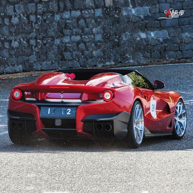 The $4.2 Million 1 of 1 Ferrari F12 TRS.