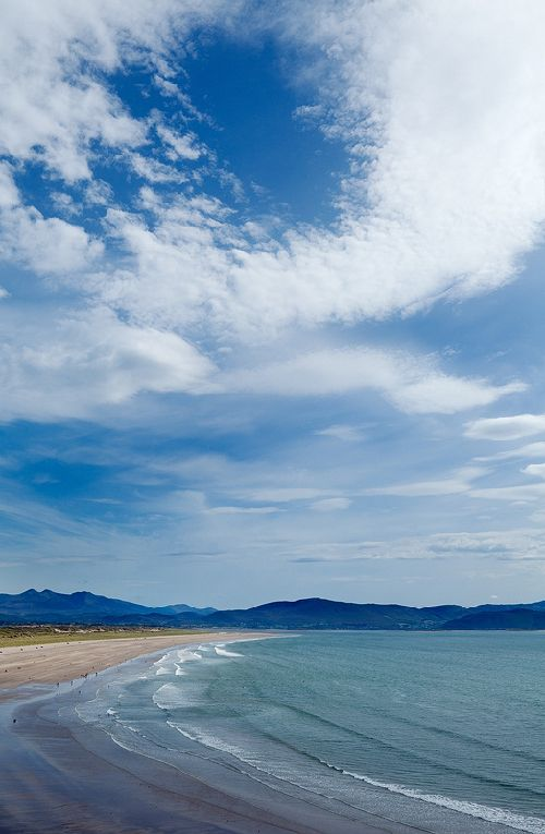 Inch Beach, County Kerry, Ireland.  My Dad's favorite beach.  I felt his presence so strongly when I was there.