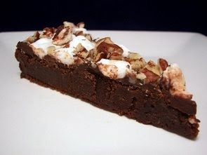 Rocky Road Brownie Wedges (Adapted from Everday Food) 8 tablespoons unsalted butter, cut into cubes 12 ounces chopped bittersweet chocolate,...