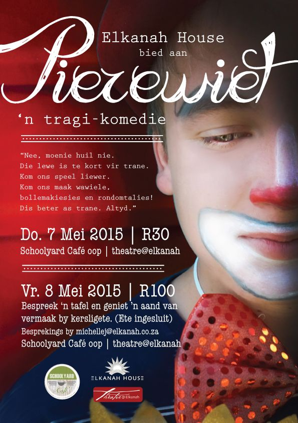Don't miss another masterpiece by our Afrikaans department!