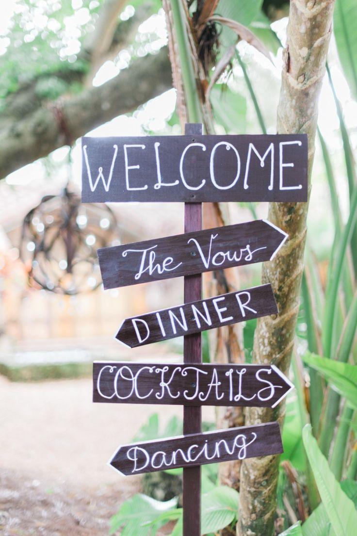 wedding sign idea; photo: Shea Christine Photography