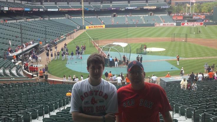 My  son Dan and grandson Devin.
