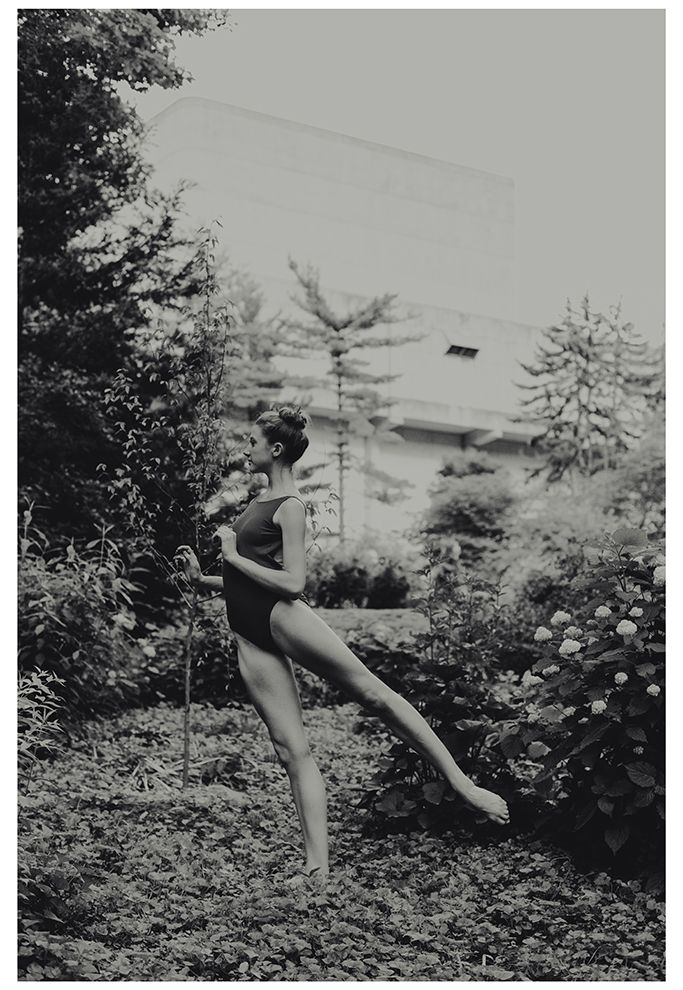 leslie theisen ballerina at the jacobs school of music bloomington, indiana