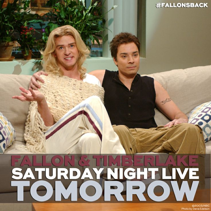 Jimmy Fallon hosts Saturday Night Live with musical guest Justin Timberlake tomorrow!