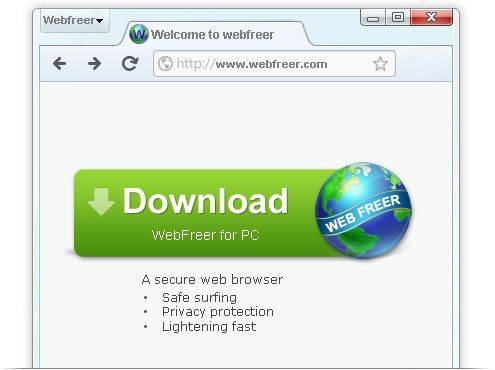 Web F reer Free Download For PC web freer browser