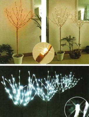 White LED Bulb Branches with a Stand  creative motion ind