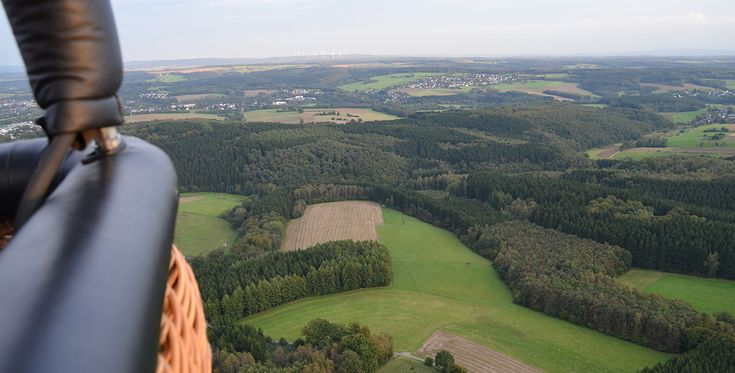Ballonfahren in Kornwestheim #Himmel #Ballonfahrt #Geschenk