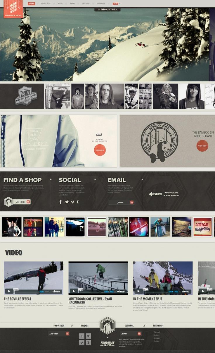 momentskis.com | #it #web #design #layout #userinterface #website #webdesign <<< repinned by www.BlickeDeeler.de Follow us on www.facebook.com/BlickeDeeler