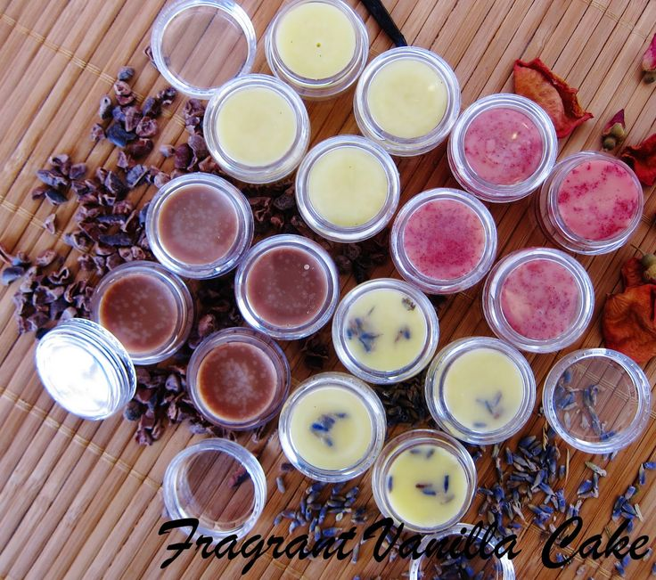 Home Made Flavored Lip Balms