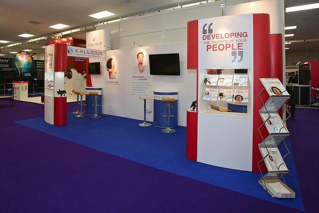 Exhibition Stand Design for Kallidus.
