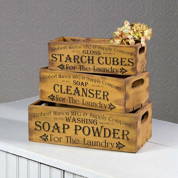 Robert Marlon Mfg Supply Company Starch Cubes Soap Cleanser