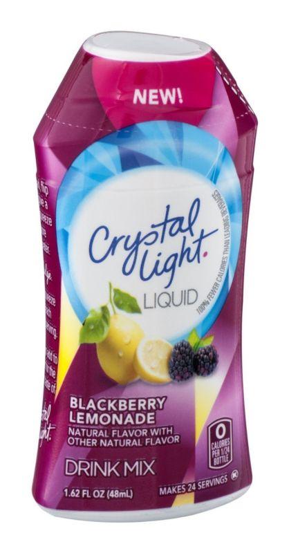 Water Flavor Enhancers 179189: Crystal Light Liquid Drink Mix Blackberry Lemonade Flavor 1.62 Oz (Pack Of 6) -> BUY IT NOW ONLY: $37.99 on eBay!