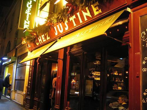 Chez Justine-We must visit Paris