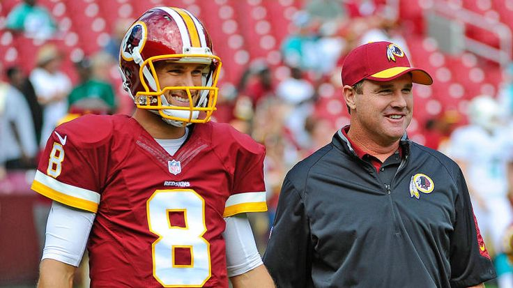 Jay Gruden on Kirk Cousins: 'He's gonna be here this season, and that's all I care about'
