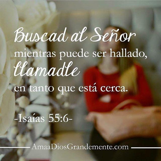 El Señor está cerca nuestro.. Responde a su llamado mientras haya tiempo! #AmaaDiosGrandemente #LoveGodGreatlyOfficial #MujeresdelaPalabra