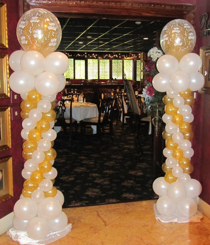 Decorating For A Party best 25+ 50th birthday balloons ideas on pinterest | black gold
