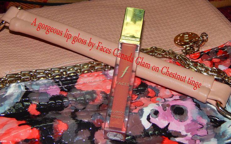 karismaticduals: Faces Canada Glam on Lip Gloss Chestnut Tinge