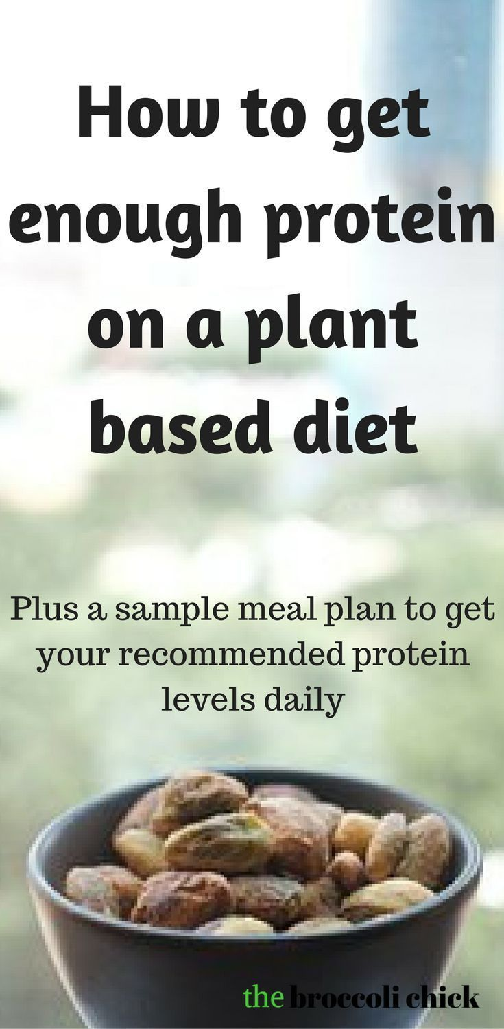 How to get enough plant based protein on a plant based diet