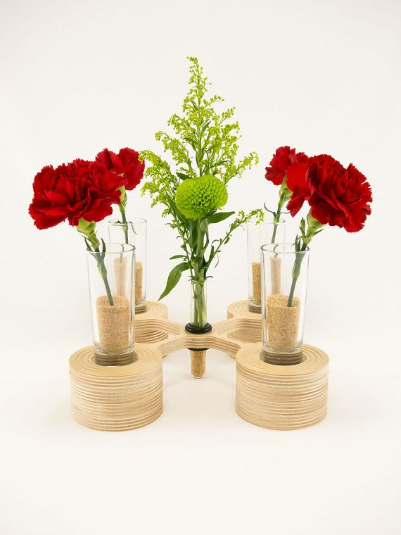 Style 11  Wood Votive Candle Holder and by KkornerInnovations, $24.00