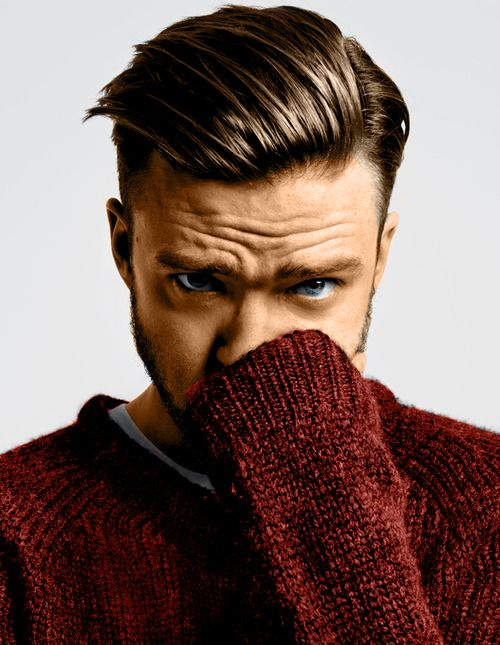 Justin Timberlake in The New York Times Style Magazine (colorized version)