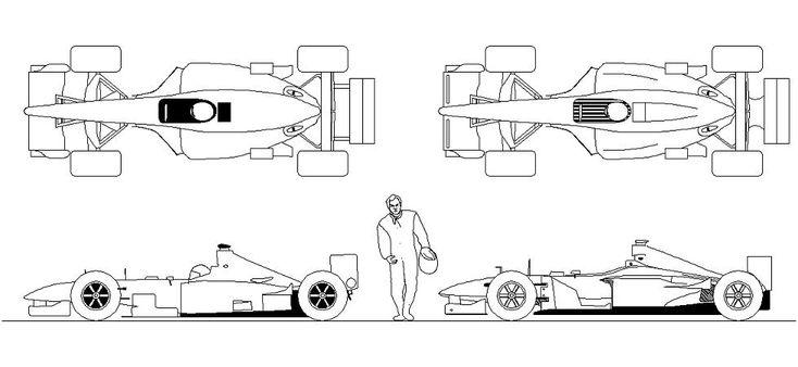Dwg Adı : F1 yarış arabası çizimi  İndirme Linki : http://www.dwgindir.com/puanli/puanli-2-boyutlu-dwgler/puanli-araclar/f1-yaris-arabasi-cizimi.html