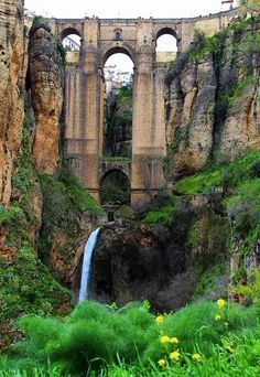 Ronda, Malaga, Spain  ✈✈✈ Don't miss your chance to win a Free International Roundtrip Ticket to Seville, Spain from anywhere in the world **GIVEAWAY** ✈✈✈ https://thedecisionmoment.com/free-roundtrip-tickets-to-europe-spain-seville/