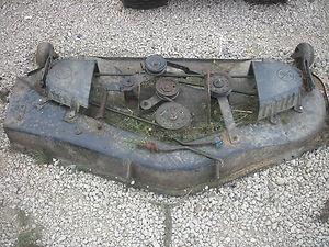 Craftsman 50 Mower Deck Parts | 50 inch Sears Craftsman Mower Deck | eBay