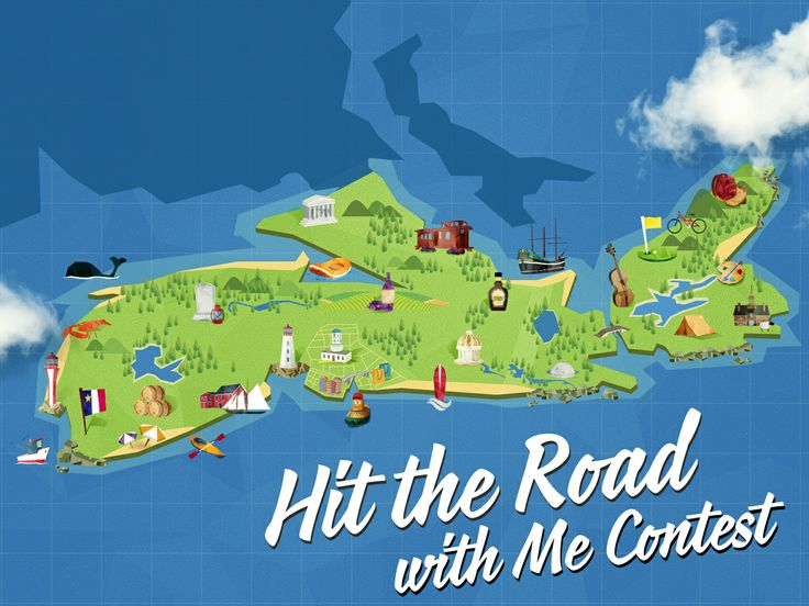 Map out your ultimate road trip in Nova Scotia for a chance to win a  trip for four.