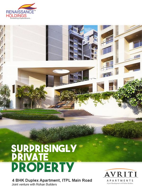 We've made privacy simple, which is why when you open a window all you see are neatly landscaped gardens #AVRITI #RENAISSANCE