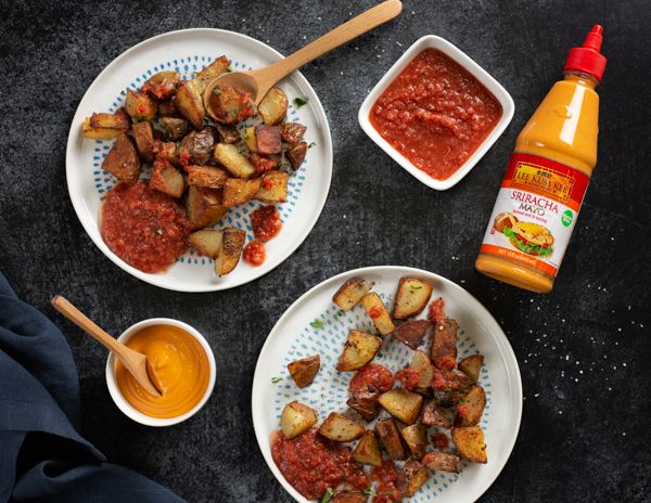 Patatas Bravas Usa With Images Asian Recipes Flavorful