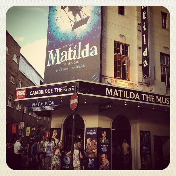 matilda west end theatre - Google Search