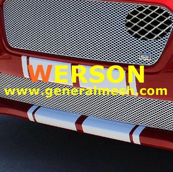 Pin On Universal Aluminium Car Mesh Grill Silver Body Bumper Grille
