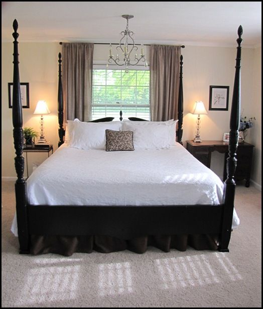 sears country living coverlet with cherry 4 poster bed