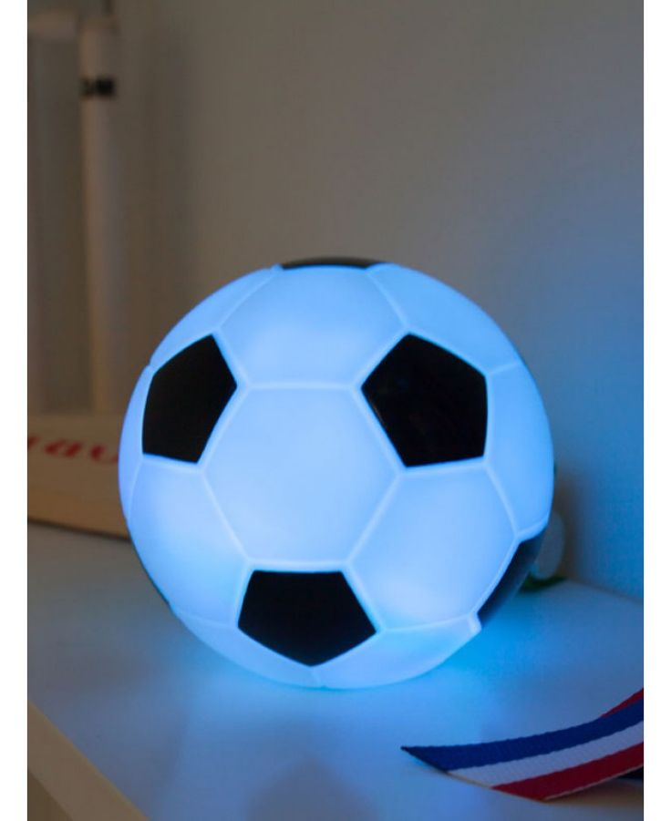 3D football lights up and changes colour automatically Stays cool to touch A great gift for football fans