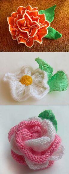 Curso & quot; flores de tejer máquina y una decoración & quot; | Lecciones de la máquina de tejer. Cursos y talleres