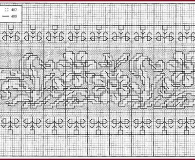 Free cross stitch patterns: POINT ASSISI