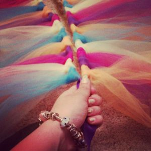 Color Run tutu - Round to Ravishing (blog) tutorial