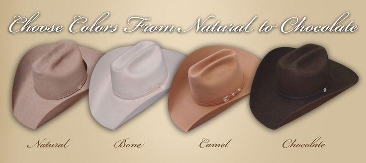 ... Custom Cowboy Hat Colors Hally's Custom Hats ...