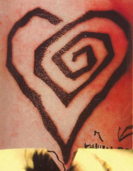 Marilyn Manson Heart Tattoo: 17 Best Images About Tattoos On Pinterest