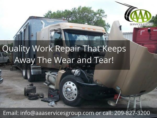 AAA Services has the knowledge and technology to repair and service the most advanced tractor trailer trucks on the road today. Whether you're experiencing an issue with your engine, transmission, electrical system, or A/C, we can handle it.